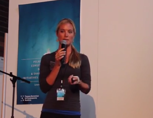Ocean Ramsey explaining Shark Communcation - White Shark Video