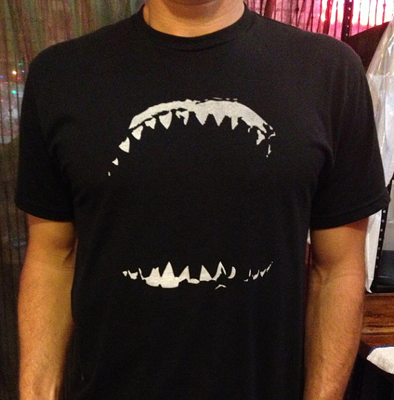 Authentic and original shark shirts for shark conservation